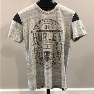 Men's Hurley Grey T-Shirt SZ Lg